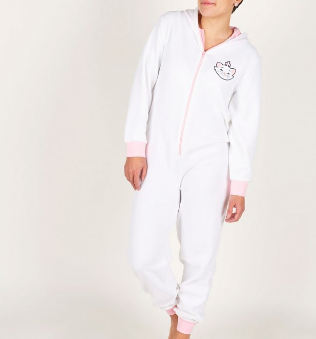 Women's Aristocats Hooded Onesie