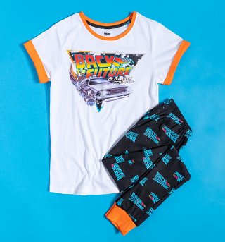 Women's Back To The Future Pyjamas