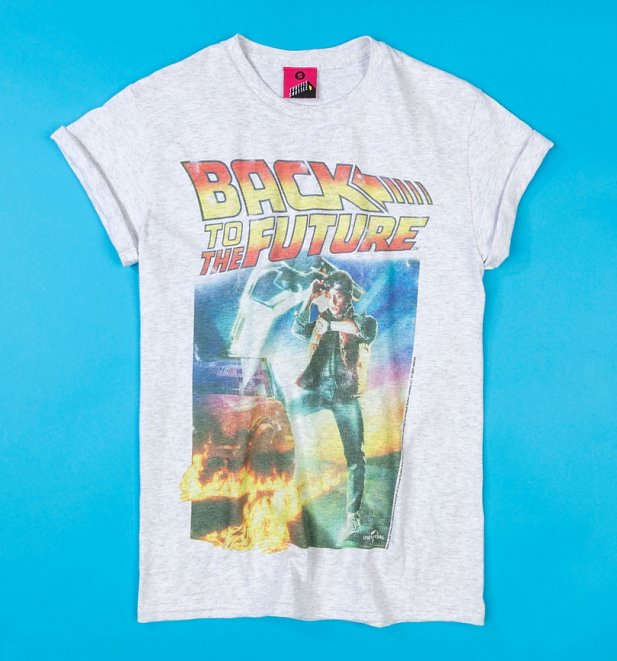 Women's Back to the Future Movie Poster Loose Fit T-Shirt