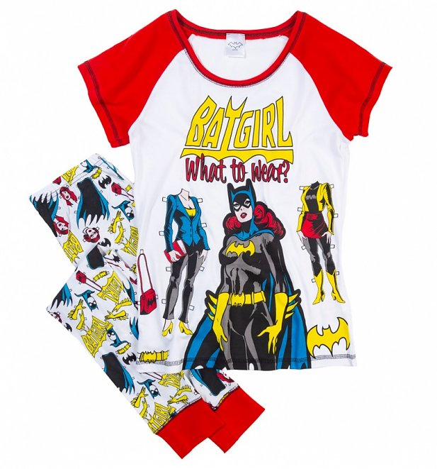 Women's Batgirl What To Wear DC Comics Pyjamas
