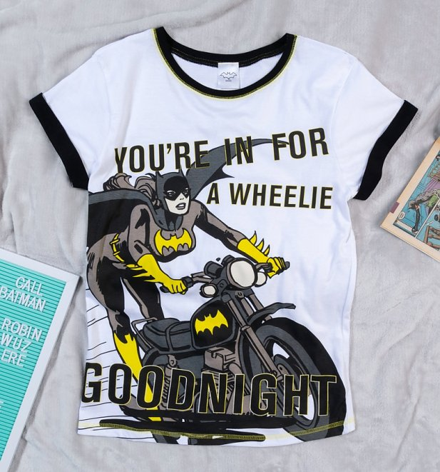 Women's Batgirl Wheelie Good Night Pyjamas
