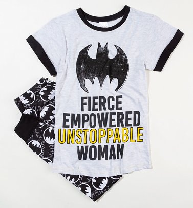 Women's Batman Fierce Empowered Unstoppable Woman Pyjamas