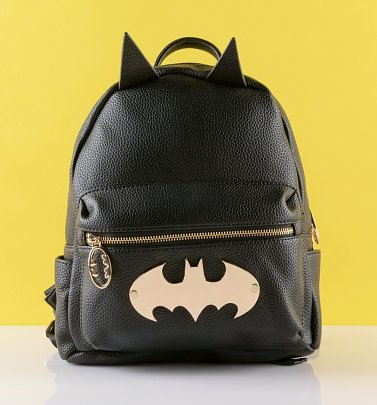 Women's Batman Gotham Gold Mini Backpack