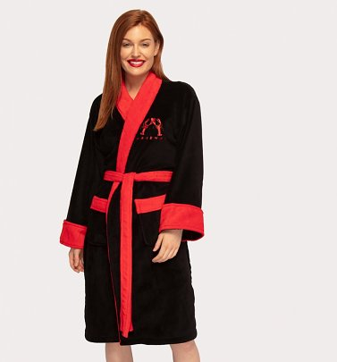 Women's Black Friends You Are My Lobster Dressing Gown