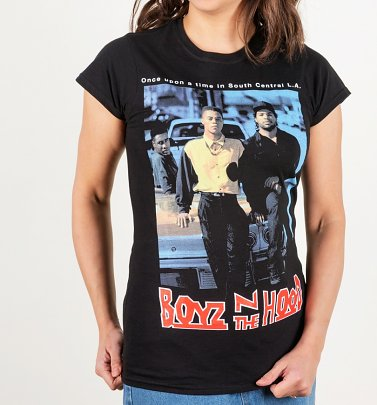 Women's Boyz N The Hood Black T-Shirt