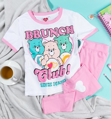 Women's Care Bears Brunch Club Pyjamas