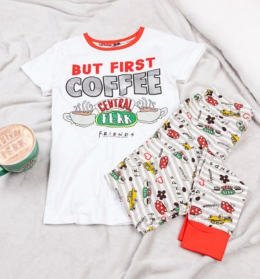 Women's Central Perk Friends Pyjamas