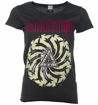 Women's Charcoal Soundgarden Badmotorfinger T-Shirt from Amplified