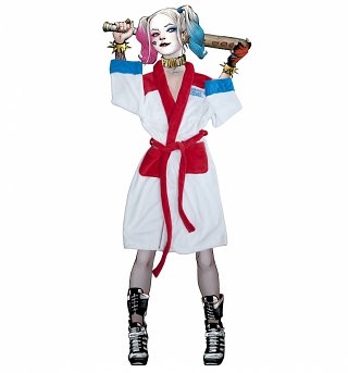 Women's DC Comics Harley Quinn Suicide Squad Dressing Gown