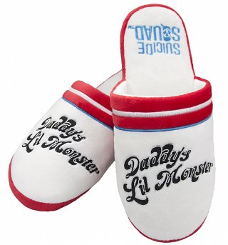 Women's DC Comics Suicide Squad Harley Quinn Daddy's Lil Monster Slip On Slippers