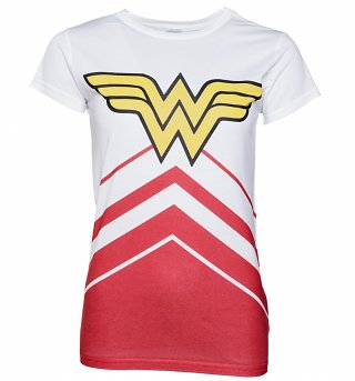 Women's DC Comics Wonder Woman Cheerleader T-Shirt