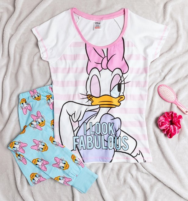 Women's Daisy Duck Fabulous Disney Pyjamas