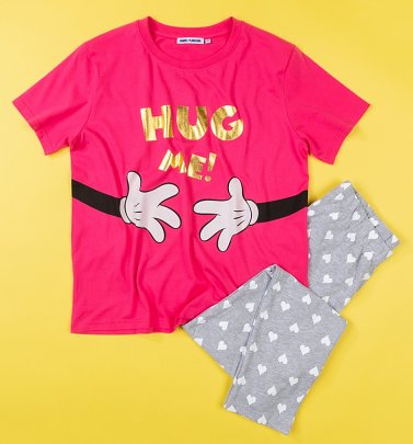 Women's Disney Minnie Mouse Hug Me Pyjamas