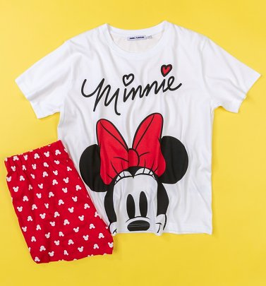 Women's Disney Minnie Mouse Shortie Pyjamas