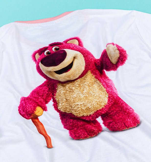 Women's Disney Pixar Toy Story Lotso Ringer T-Shirt from Hype