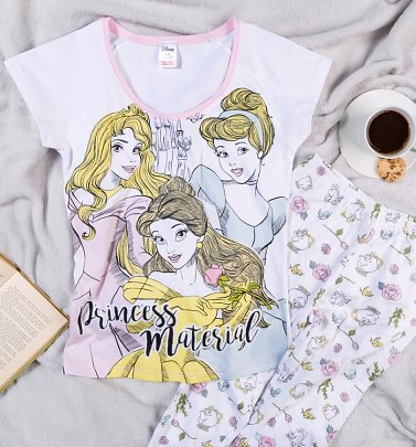 Women's Disney Princess Material Pyjamas