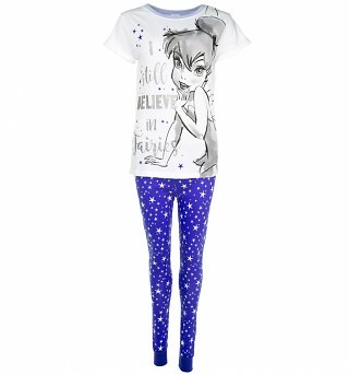 Women's Disney Tinker Bell I Still Believe In Fairies Pyjamas
