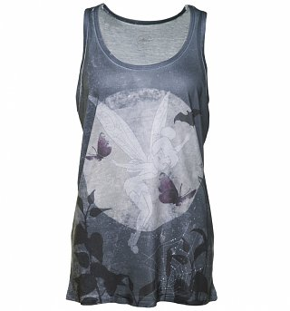Women's Disney Tinker Bell Sublimation Print Vest