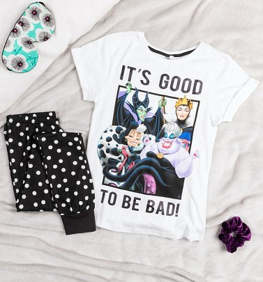Women's Disney Villains It's Good To Be Bad Pyjamas
