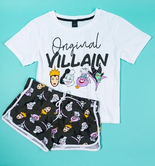 Women's Disney Villains Original Witch Shortie Pyjama Set