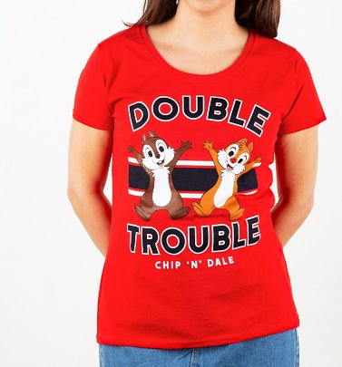 Women's Double Trouble Chip 'N' Dale T-Shirt