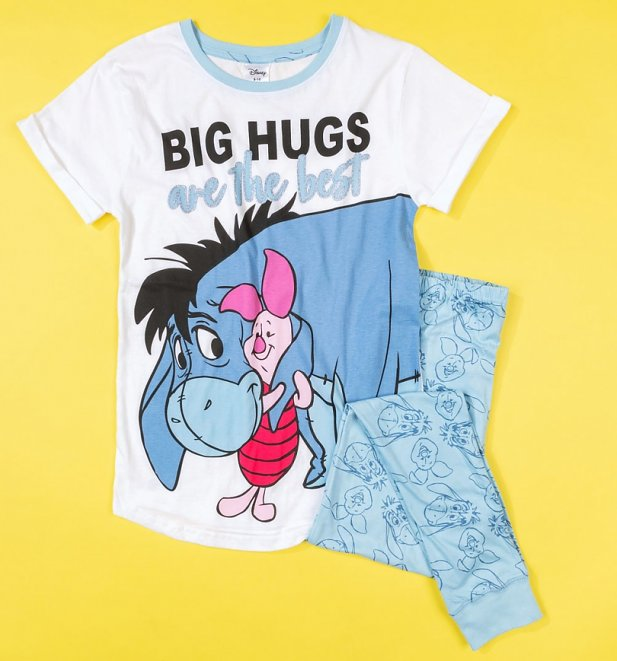 Women's Eeyore And Piglet Big Hugs Are The Best Pyjamas