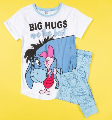 Women's Eeyore And Piglet Big Hugs Are The Best Disney Pyjamas
