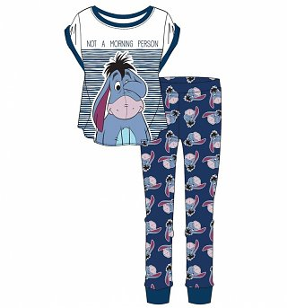 Women's Eeyore Not A Morning Person Pyjamas