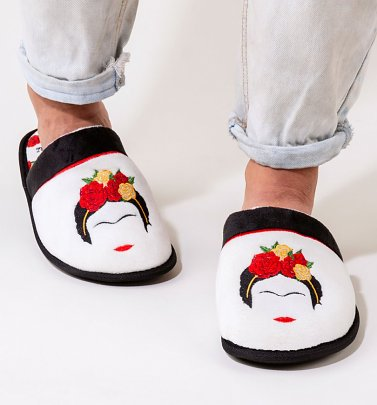 Women's Frida Kahlo Minimalist Slippers
