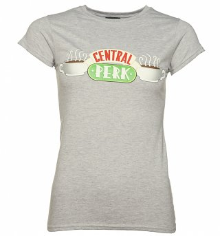 Women's Grey Central Perk Friends T-Shirt
