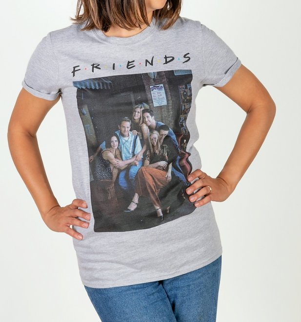 Friends Characters Boyfriend T-Shirt