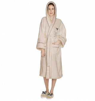 Women's Grumpy Cat Touch At Peril Dressing Gown