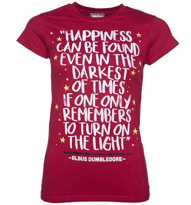 Women's Harry Potter Happiness Can Be Found T-Shirt