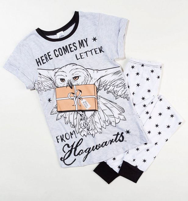 Harry Potter Hedwig Here Comes My Letter From Hogwarts Pyjamas