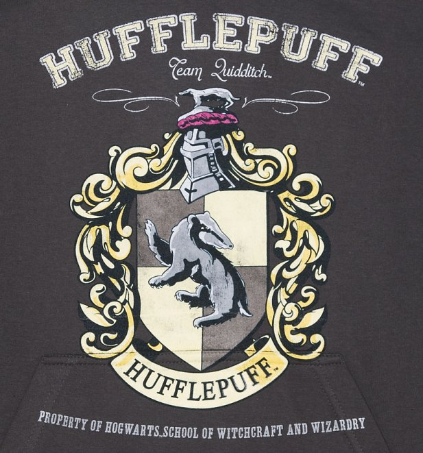 Women's Harry Potter Hufflepuff Team Quidditch Hoodie