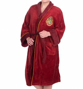 Women's Harry Potter Platform 9 3/4 Fleece Dressing Gown