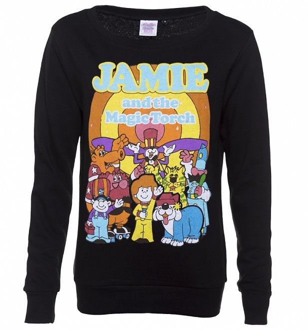 Women's Black Jamie and the Magic Torch Sweater