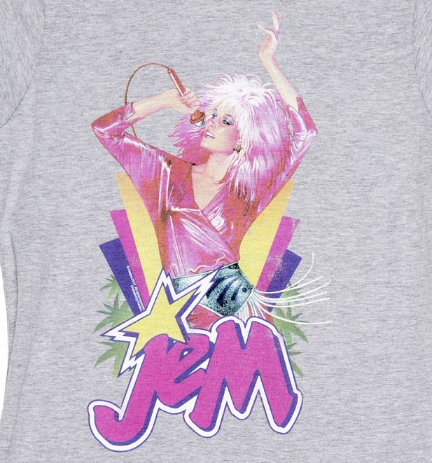 Women's Jem Centre Stage Sport Grey T-Shirt