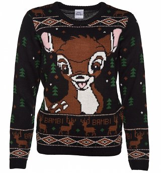 Women's Knitted Bambi Forrest Jumper