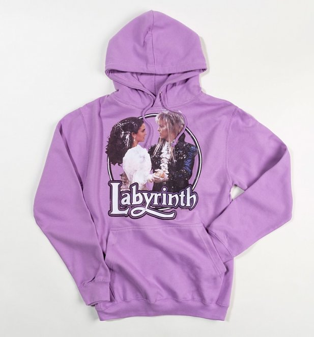 Women's Labyrinth Ballroom Dance Lavender Heavyweight Hoodie