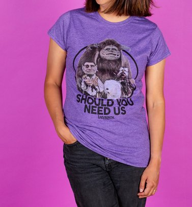 Labyrinth Should You Need Us Damen T-Shirt