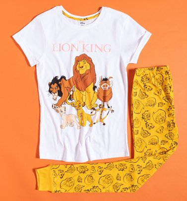 Women's Lion King Disney Pyjamas