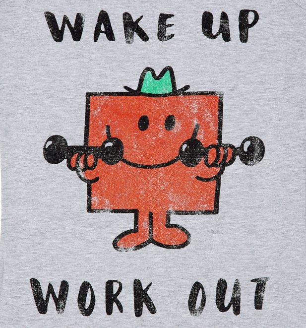 Women's Mr Strong Wake Up Work Out Mr Men Vest