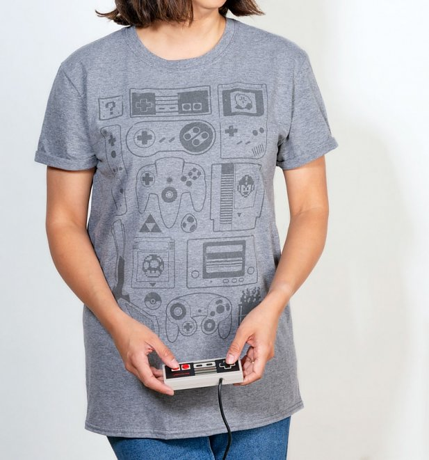 Women's Old School Gamer Boyfriend T-Shirt