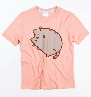 Women's Pink Pusheen T-Shirt from Difuzed