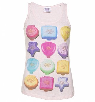 Women's Polly Pocket Playsets Heather Pink Vest
