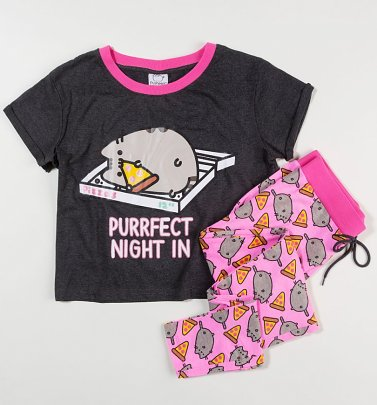 Women's Pusheen Purrfect Night In Pyjama Set