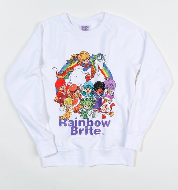 Women's Rainbow Brite And The Colour Kids Lightweight Sweater