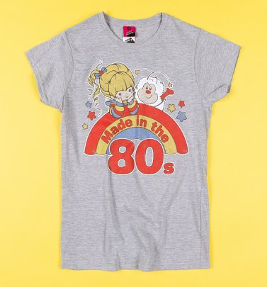 Women's Rainbow Brite Made in the 80s Fitted T-Shirt