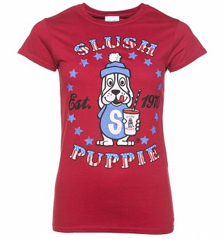 Women's Red Marl Slush Puppie Established 1970 T-Shirt